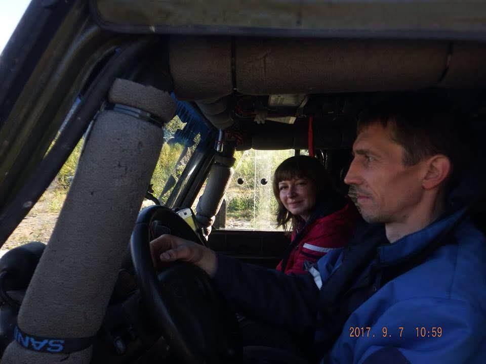 Дима и Катя Соболевы: в этом УАЗе наша пара самая лучшая